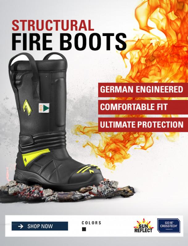 Firefighter Duty Boots | Firefighter