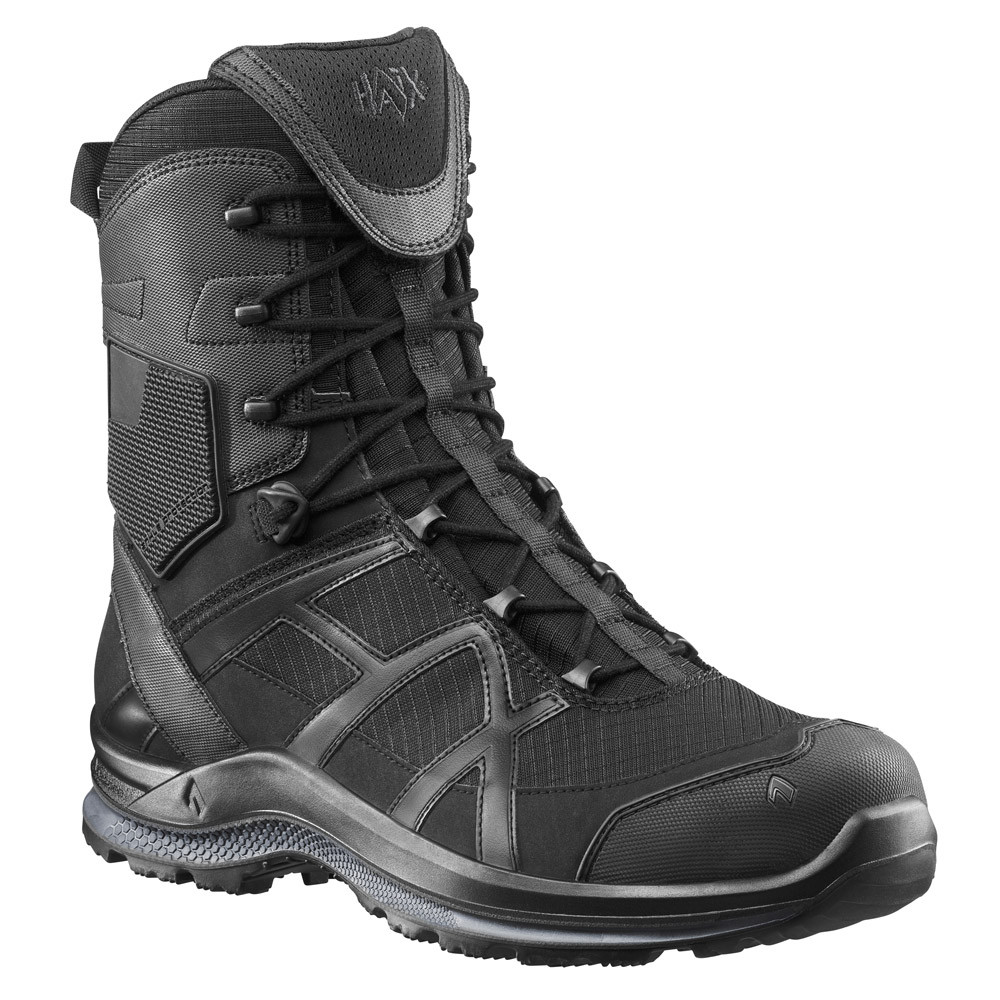 0High Boots Black Eagle Tactical Side 2 Haix Athletic Zip uF13JlTcK